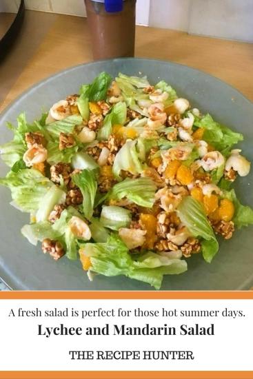 Lychee and Mandarin Salad