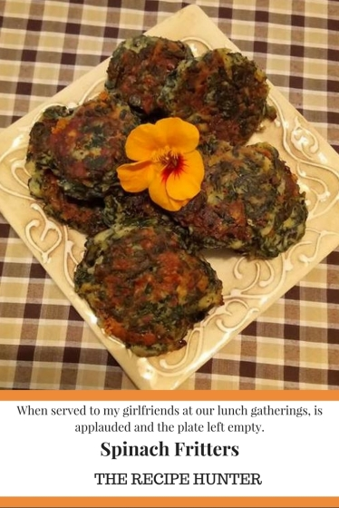 Spinach Fritters