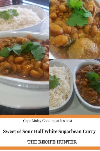 Sweet & Sour Half White Sugarbean Curry