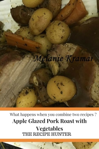 Apple Glazed Pork Roast with Vegetables
