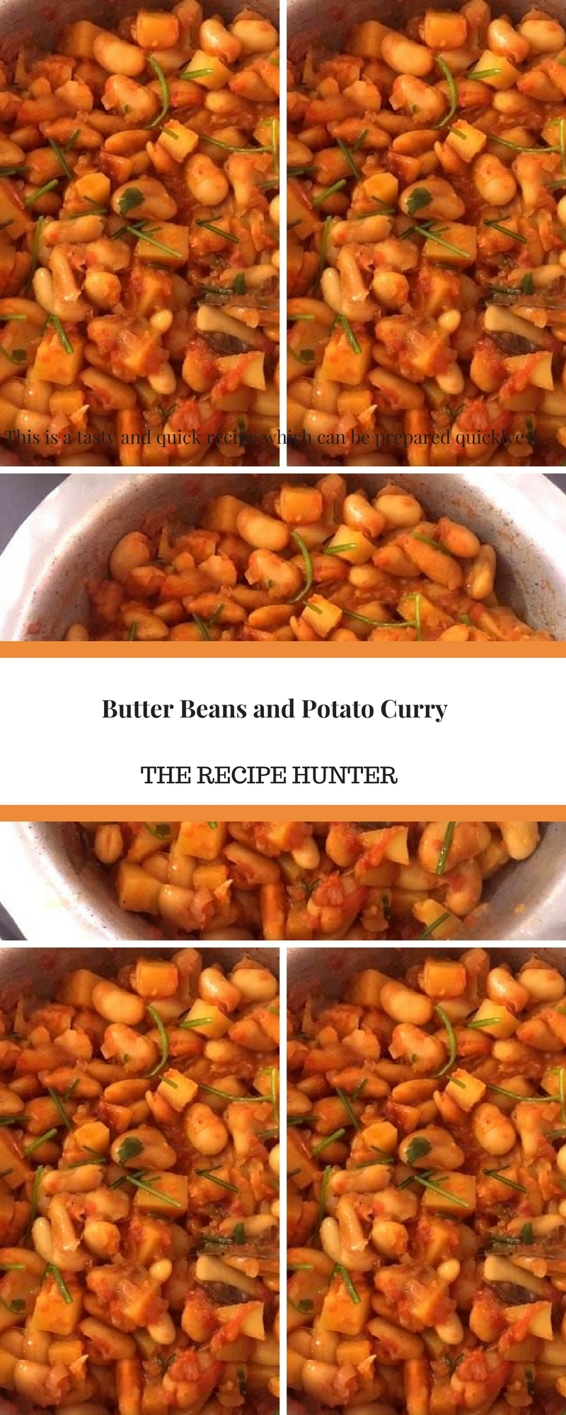 Butter Beans and Potato Curry