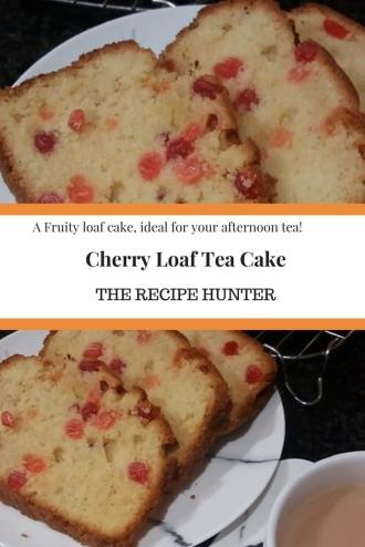 Cherry Loaf Tea Cake