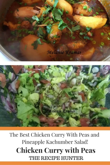Chicken Curry with Peas