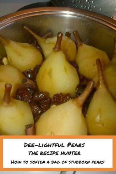 Dee-lightful Pears