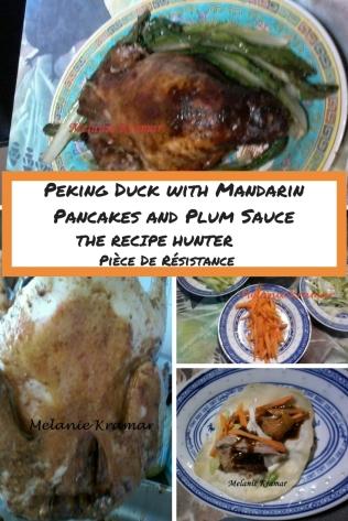 Peking Duck with Mandarin Pancakes and Plum Sauce