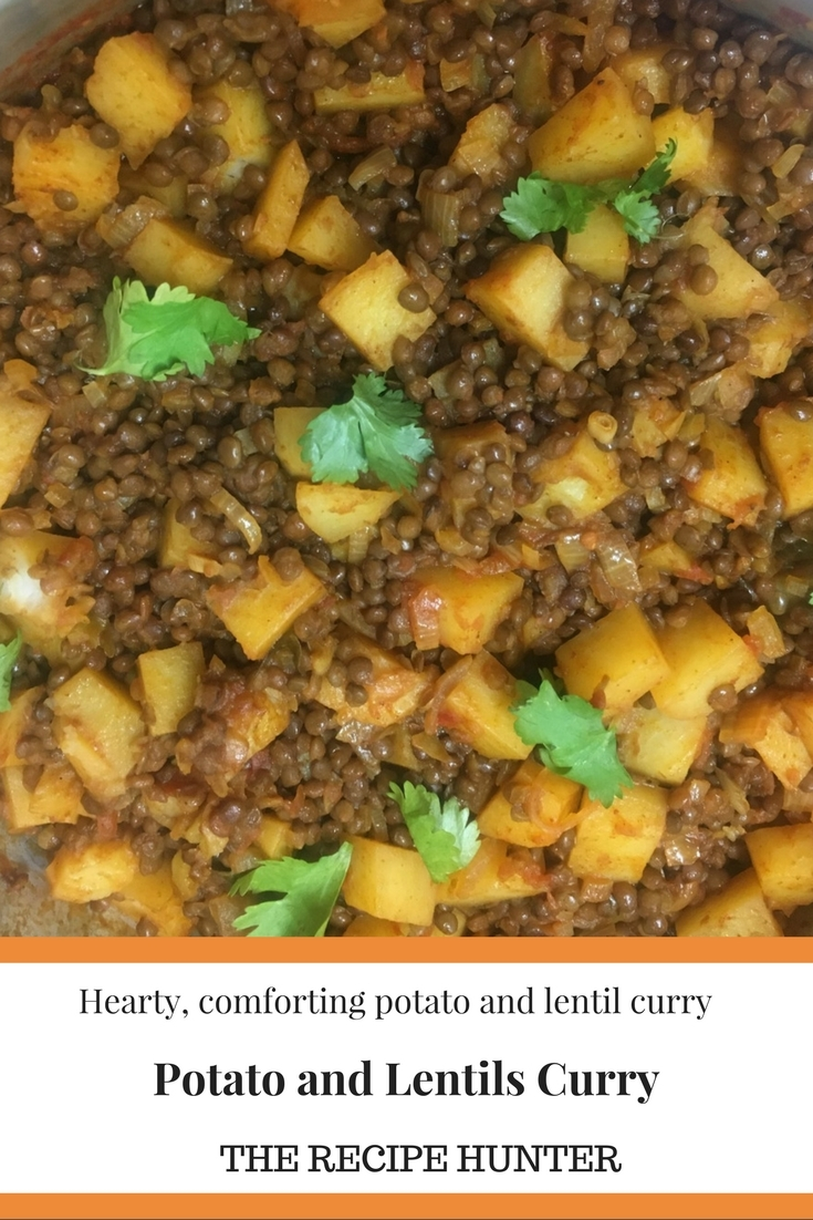 Potato and Lentils Curry