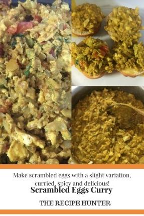 Scrambled Eggs Curry
