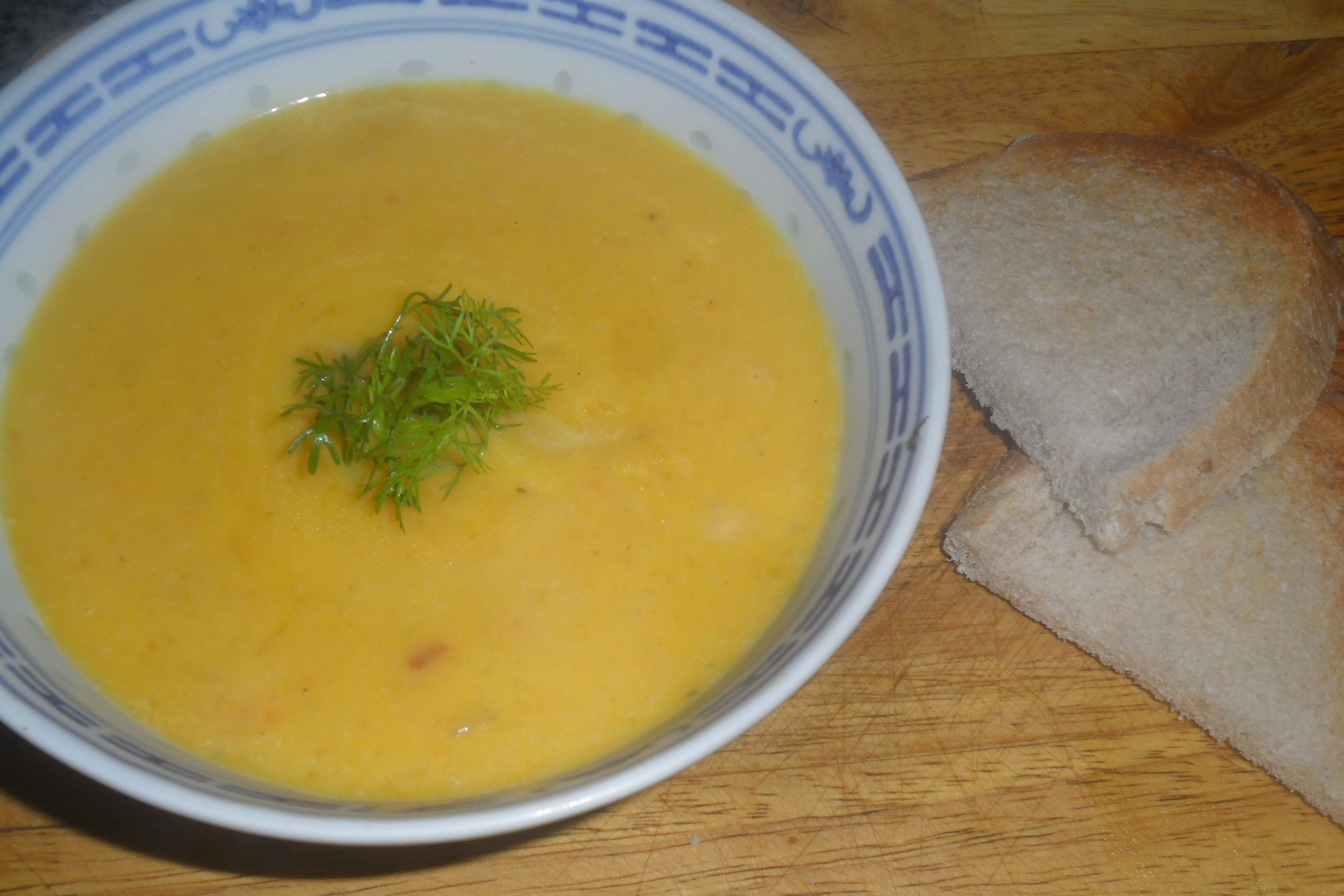 Squash and veg soup 2