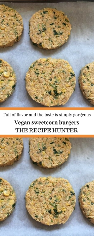 Vegan Sweetcorn Burgers