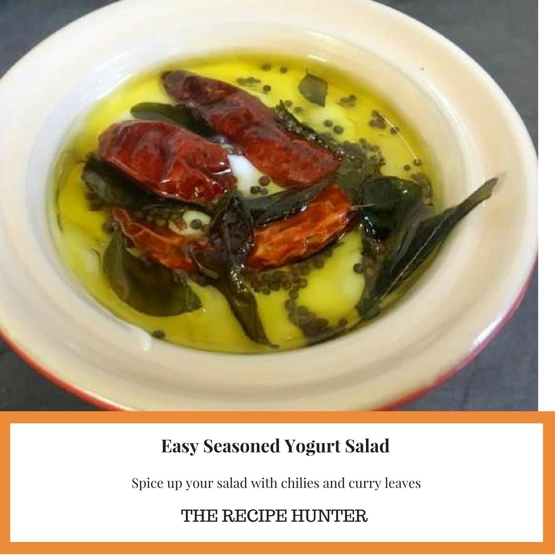 Easy Seasoned Yogurt Salad