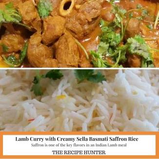 Lamb Curry with Creamy Sella Basmati Saffron Rice