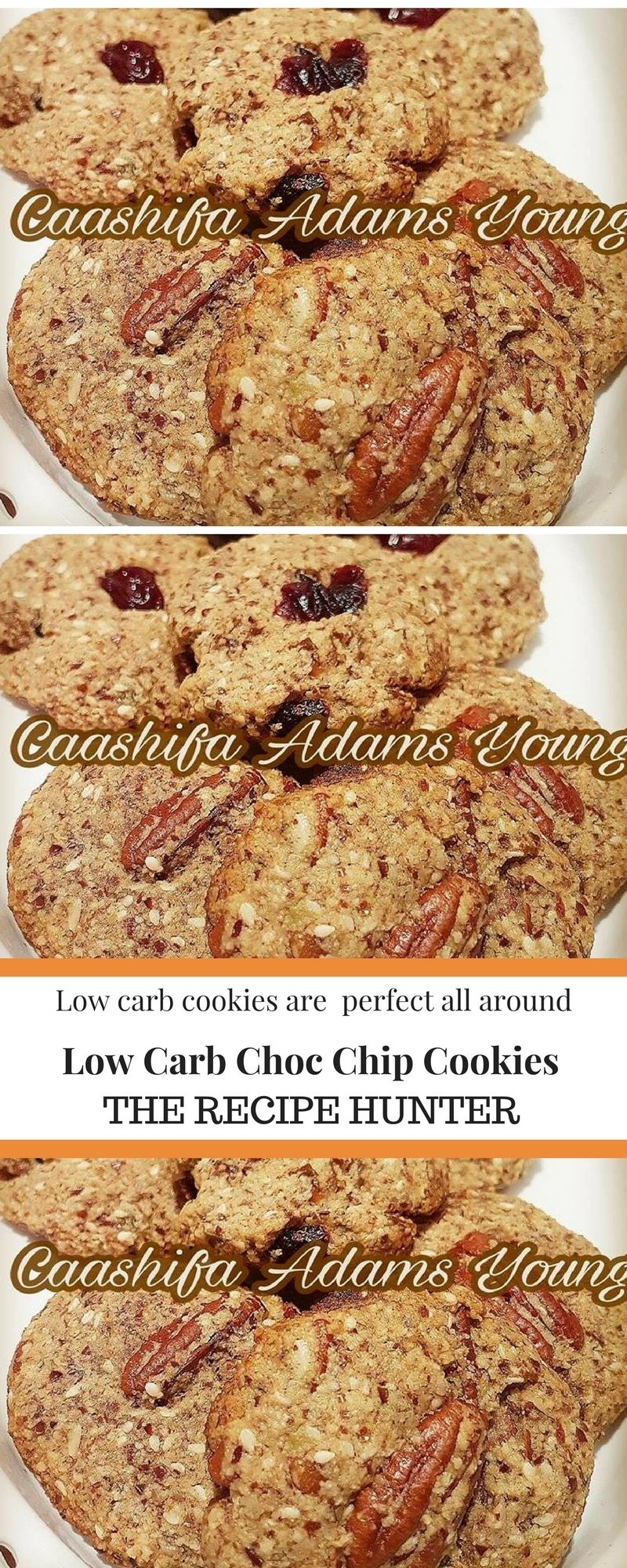 Low Carb Choc Chip Cookie