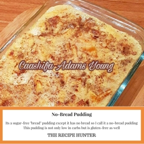 No-Bread Pudding