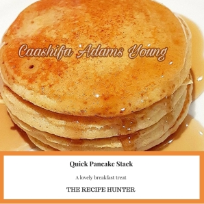Quick Pancake Stack