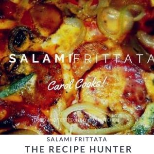 Salami Frittata