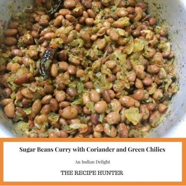 Sugar Beans Curry