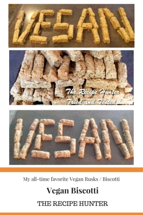 Vegan biscotti