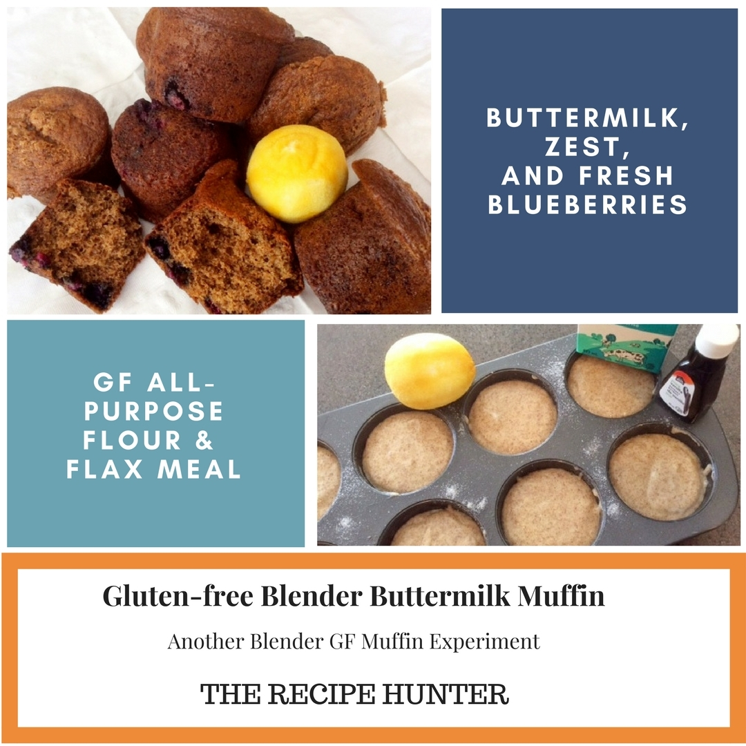 Gluten-free Blender Buttermilk Muffin