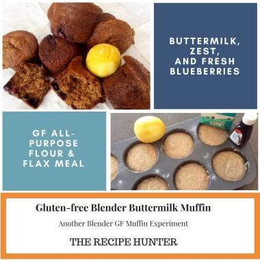 Gluten-free Blender Buttermilk Muffin