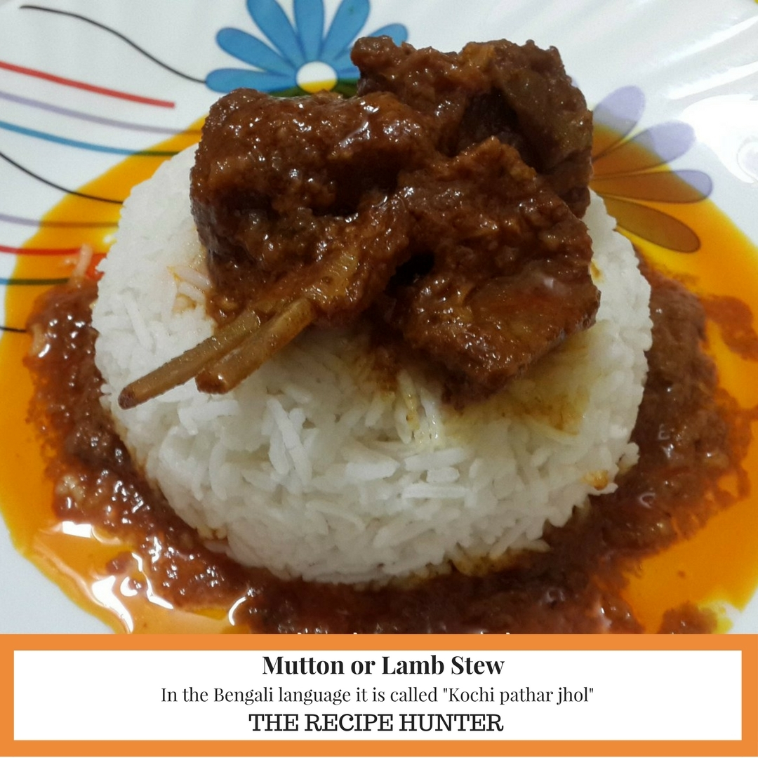 Mutton or Lamb Stew