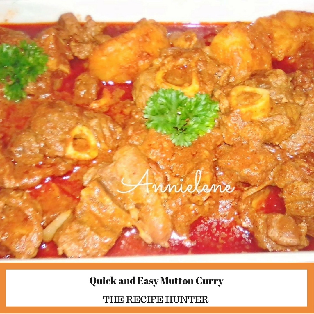 Quick and Easy Mutton Curry