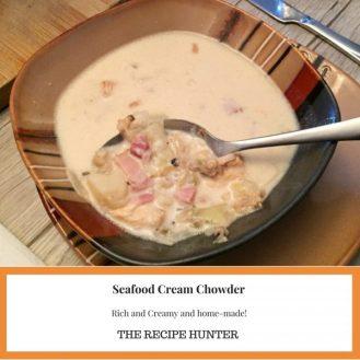 Seafood Cream Chowder