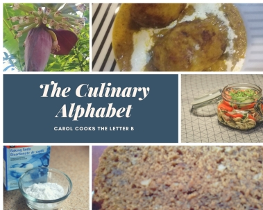 THE Culinary Alphabet collage letter B