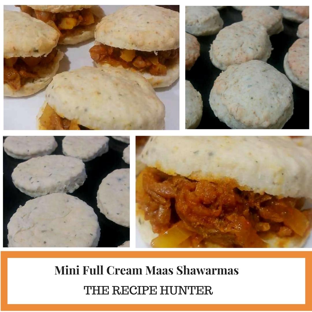 Mini Full Cream Maas Shawarmas
